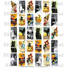 Halloween Pendant Collage Sheet 5
