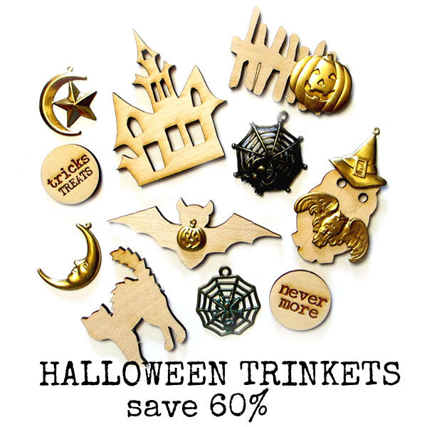 Halloween Trinkets Collection Save 60%