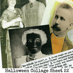 Halloween Collage Sheet 22