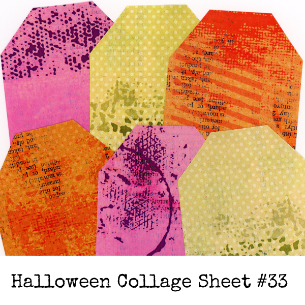 Halloween Collage Sheet 33