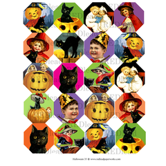 Halloween Collage Sheet 35