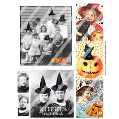 Halloween 73 Collage Sheet