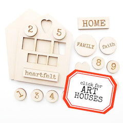 Heartfelt Home Wood Art House Kit