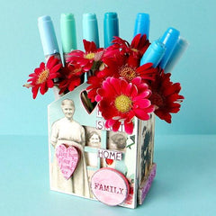 Heart Felt Art House used as a pencil cup