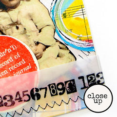 Mixed Media Numbers Wood Mount Rubber Stamp SOLD OUT!