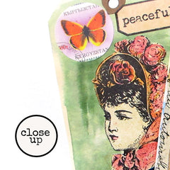Lady Victoria Rubber Stamp Save 20%