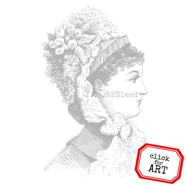 Lady Charlotte Rubber Stamp Save 20%