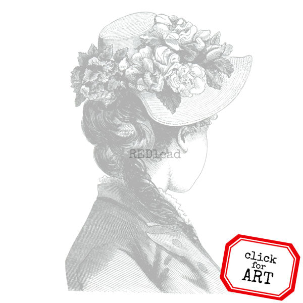 Lady Pearl Rubber Stamp Save 20%