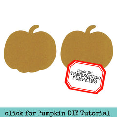 Large Chipboard Pumpkins - 2