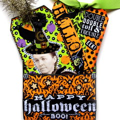 "A Halloween Vintage Style Paper Pack with Coloring Pages - 8-1/2"" x 11"""