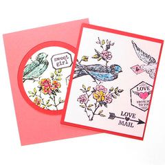 Love Mail Rubber Stamp