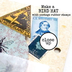 Art Journey Mail Art Rubber Stamp