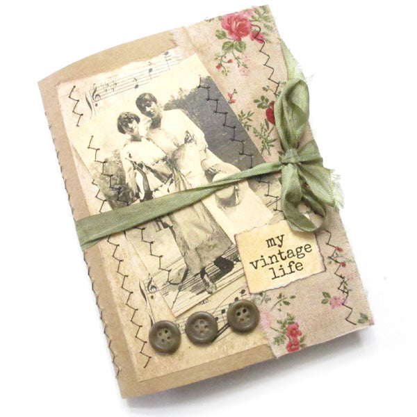 My Vintage Life Handmade Junque Journal