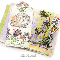 Henrietta Hedge Hog Rubber Stamp Save 20%