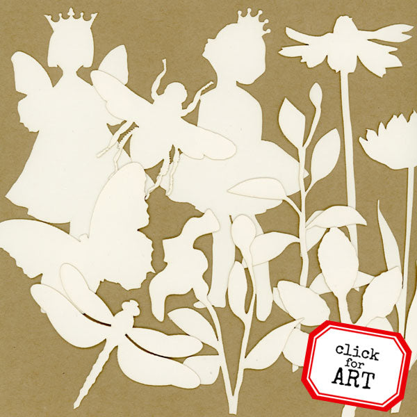 Morning in the Garden Silhouette Shapettes Save 20%