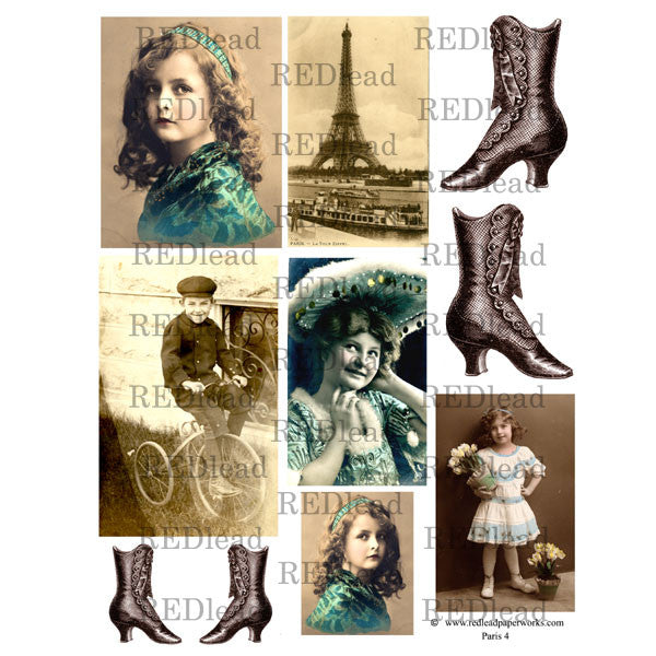 A Brand New Collage Sheet Paris 4