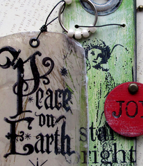 Let Heaven and Nature Sing Christmas Rubber Stamp