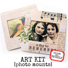 Photo Mount Art Kit