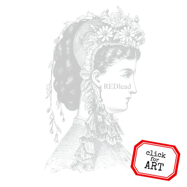 Lady Rebecca Rubber Stamp Save 20%
