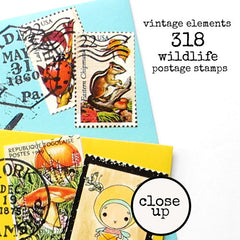 Wee WimZe Best Friends Wood Mount Rubber Stamp