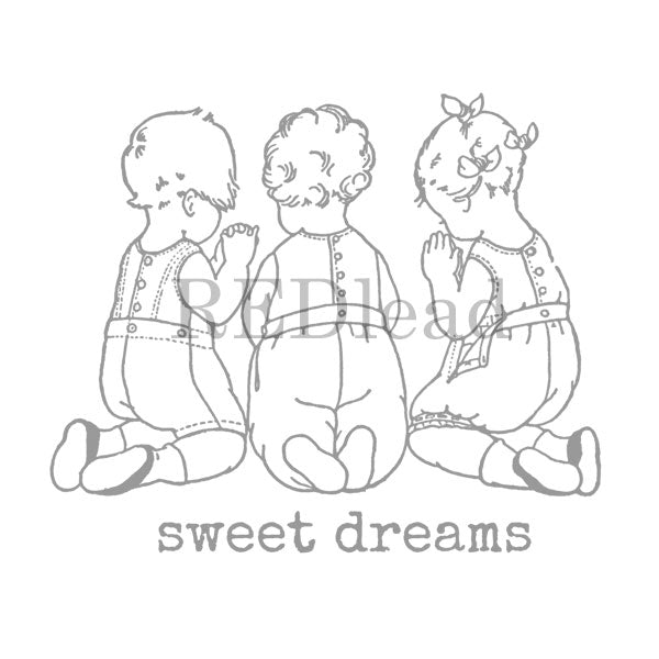Sweet Dreams Rubber Stamp Save 20%