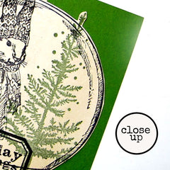 Large Snow Globe Rubber Stamp SOLD OUT