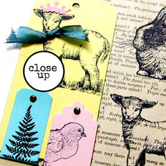Lelania Lamb Rubber Stamp