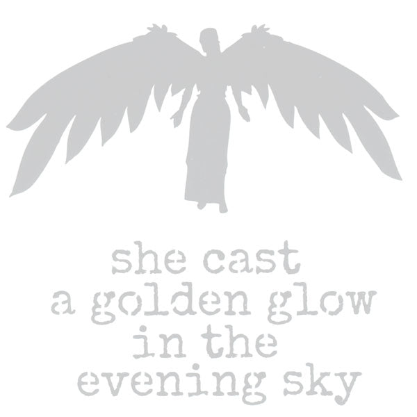 She Cast A Golden Glow 6 x 6 Stencil & Mask