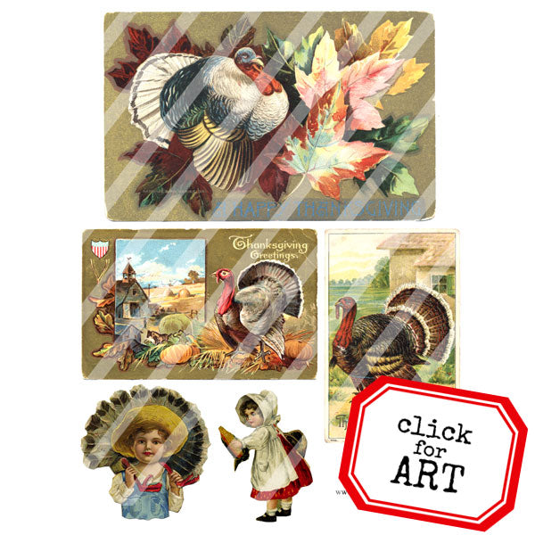 Thanksgiving Collage Sheet 4