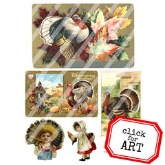 thanksgiving collage paper