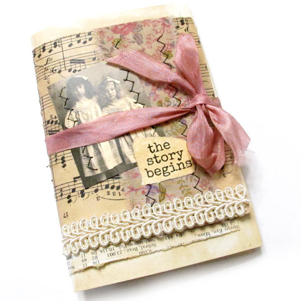 The Story Begins Handmade Junque Journal