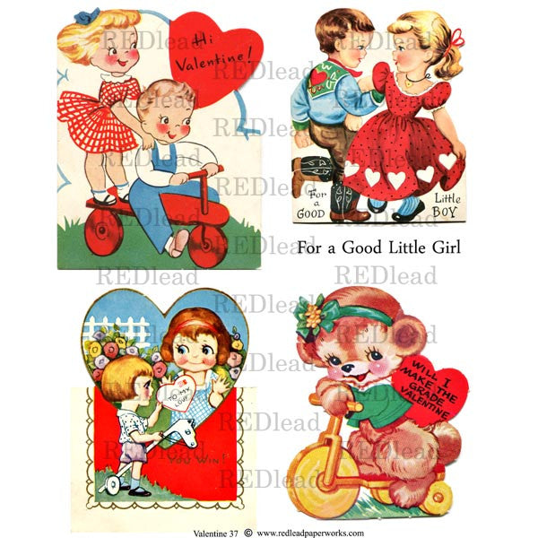 Valentine Collage Sheet 37