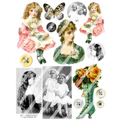 Vintage Elements 229 Collage Sheet