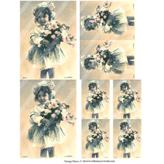 Vintage Photos 47 Collage Sheet