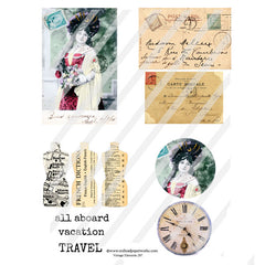 Vintage Elements 287 Collage Sheet