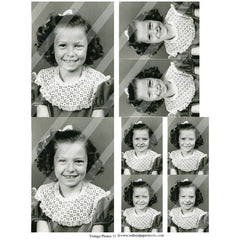 vintage photos collage sheet 33