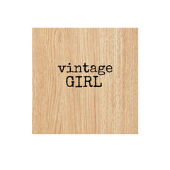 wood mount rubber stamps