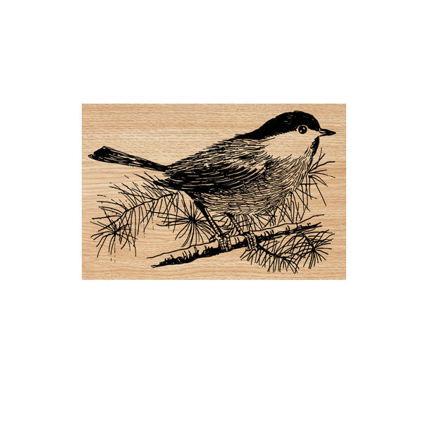 Winnie Bird Wood Mounted Rubber Stamp