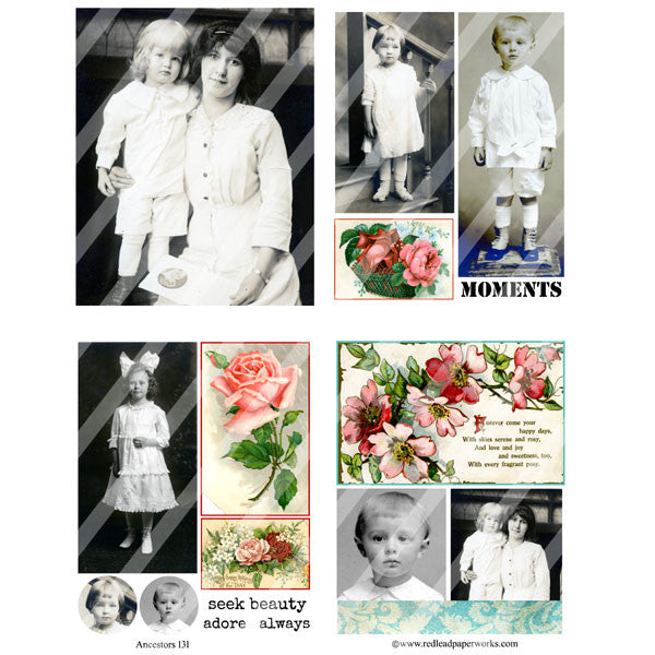 Ancestors Collage Sheet 131