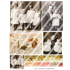Ancestors 143 Collage Sheet