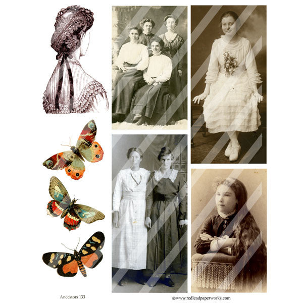Ancestors Collage Sheet 133