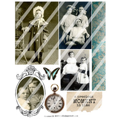 Ancestors 139 Collage Sheet