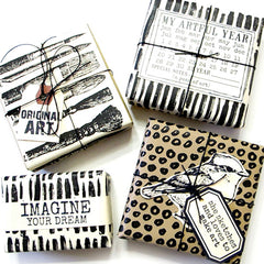 Original Art Rubber Stamp