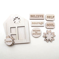 NEW! Art House Kit Believe in Yourself