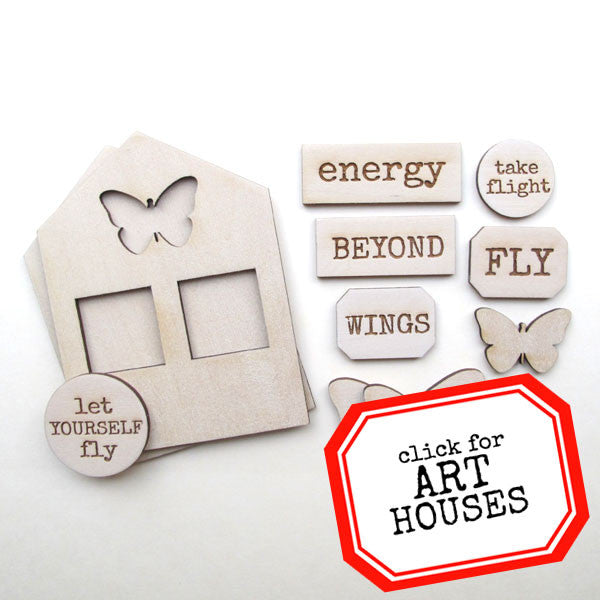 NEW! Art House Let Yourself Fly