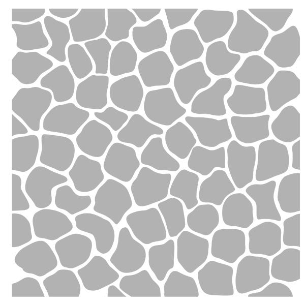 Art Stencil Mosaic Background - 6 x 6