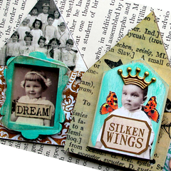 Collage Sheet Vintage Elements  100 - House Shapes