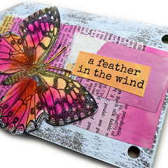 Butterfly Garden Book page