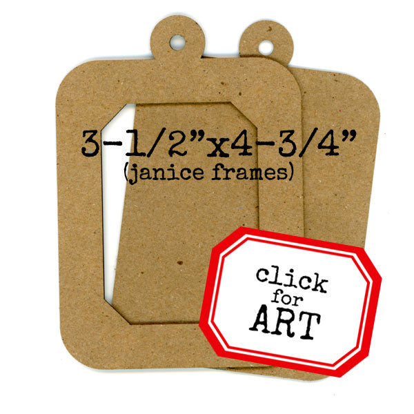 Chipboard Frame Set Janice