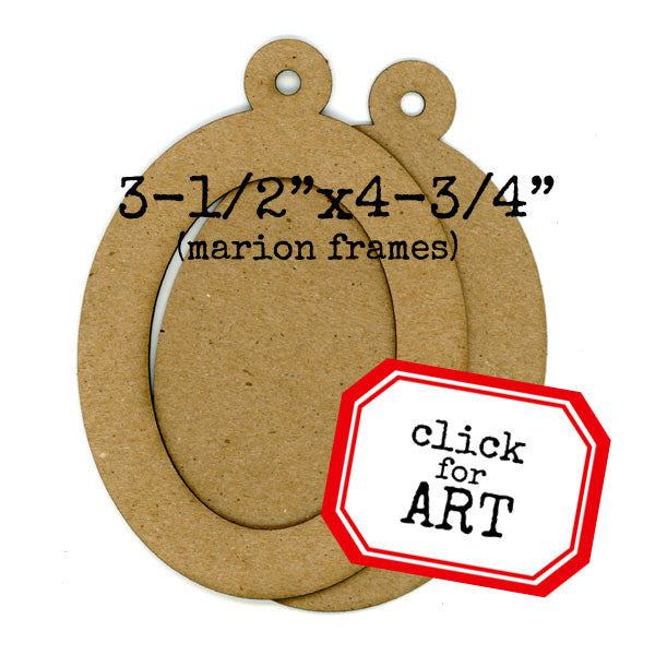 Chipboard Frame Set - Marion